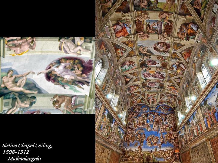 Sistine Chapel Ceiling, 1508-1512