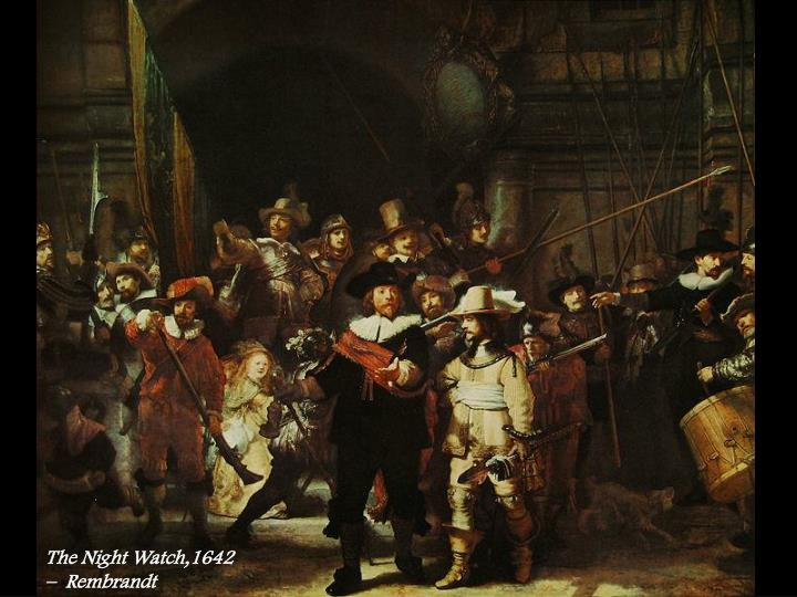 The Night Watch,1642