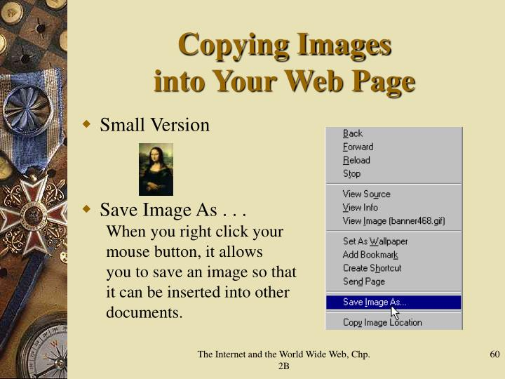 Copying Images