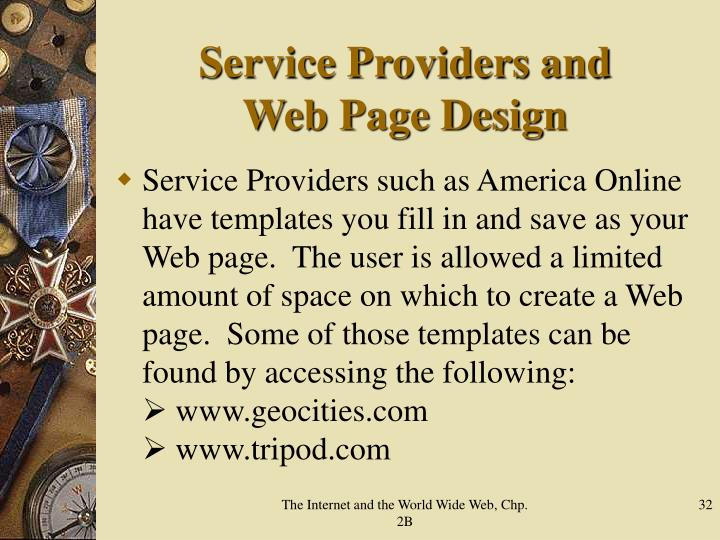 Service Providers and