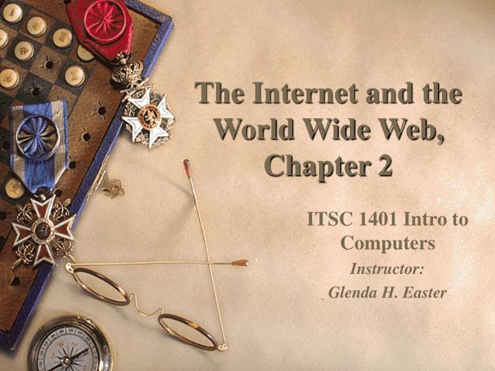 The internet and the world wide web chapter 2