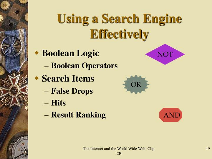 Using a Search Engine Effectively