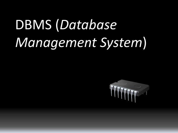 DBMS (