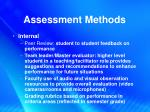 assessment methods1