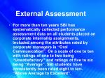 external assessment3