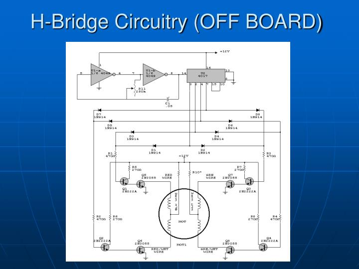 H-Bridge Circuitry (OFF BOARD)
