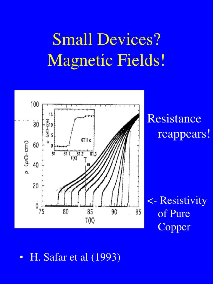 Small Devices? Magnetic Fields!