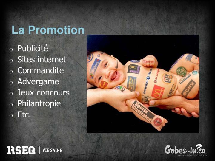 La Promotion
