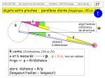 objets astro proches parallaxe diurne hipparque 150 av jc