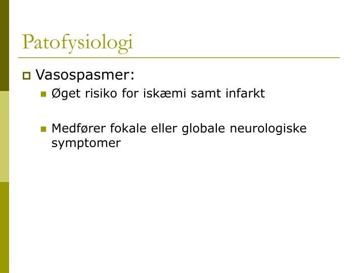 Patofysiologi