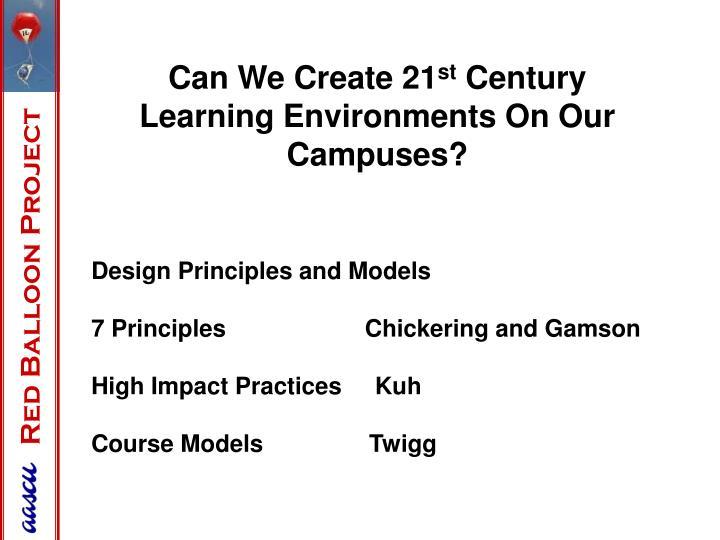 Can We Create 21