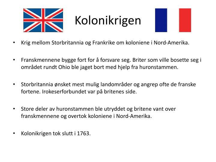 Kolonikrigen