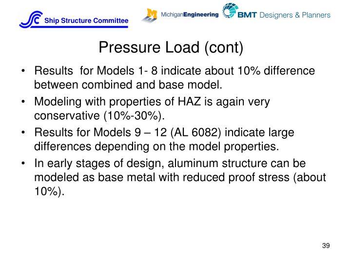 Pressure Load (cont)