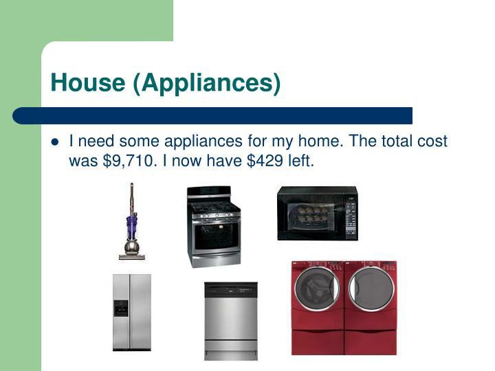 House (Appliances)