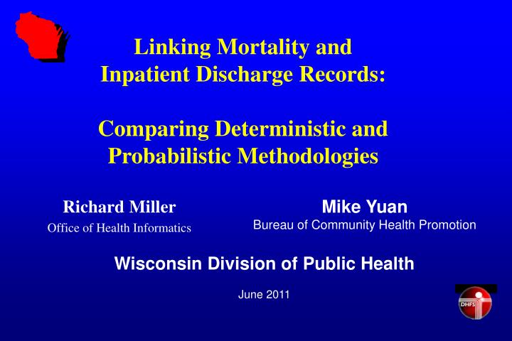 Linking Mortality and
