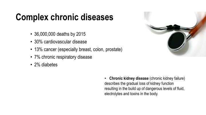 Complex chronic diseases