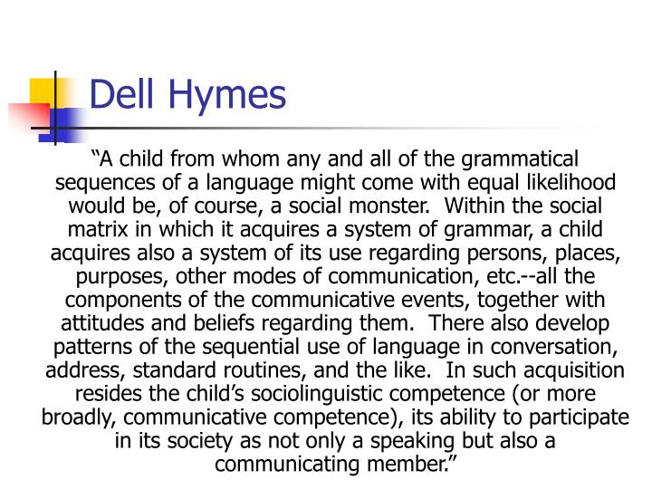 Dell Hymes