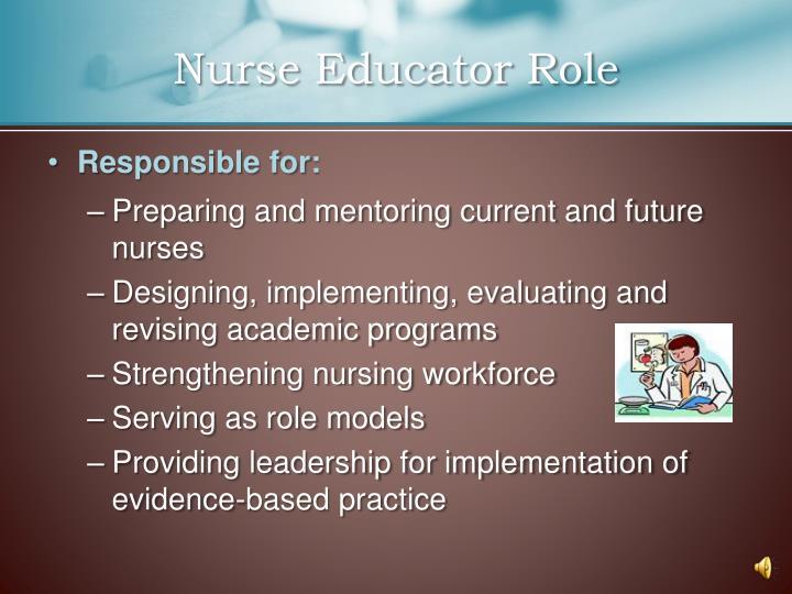 Nurse Educator Role