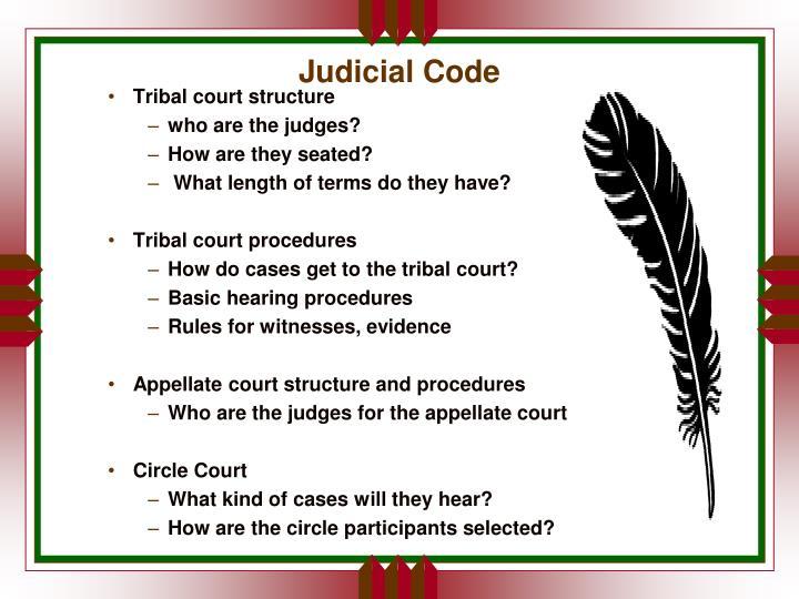 Judicial Code