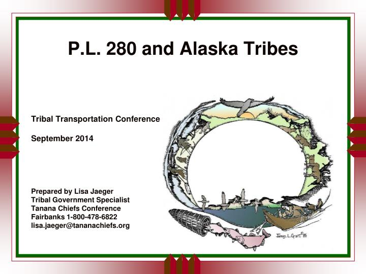 P.L. 280 and Alaska Tribes
