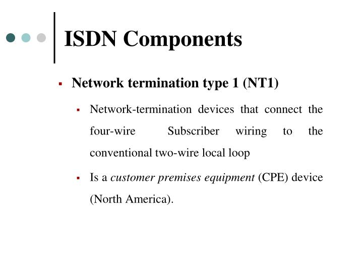 ISDN Components