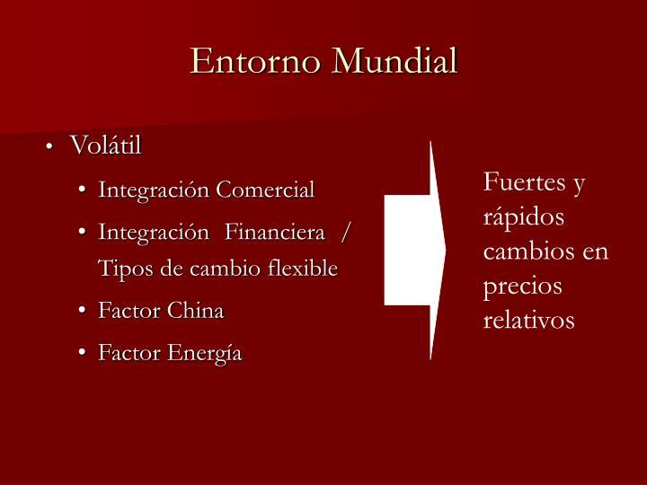 Entorno Mundial