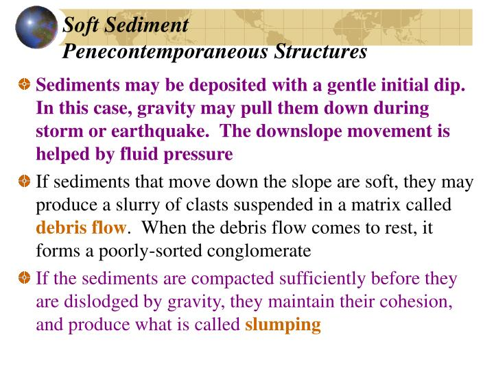 Soft Sediment