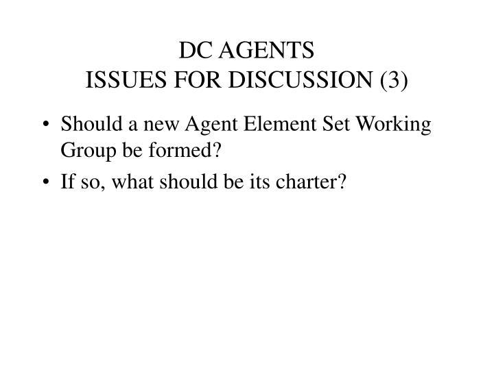 DC AGENTS