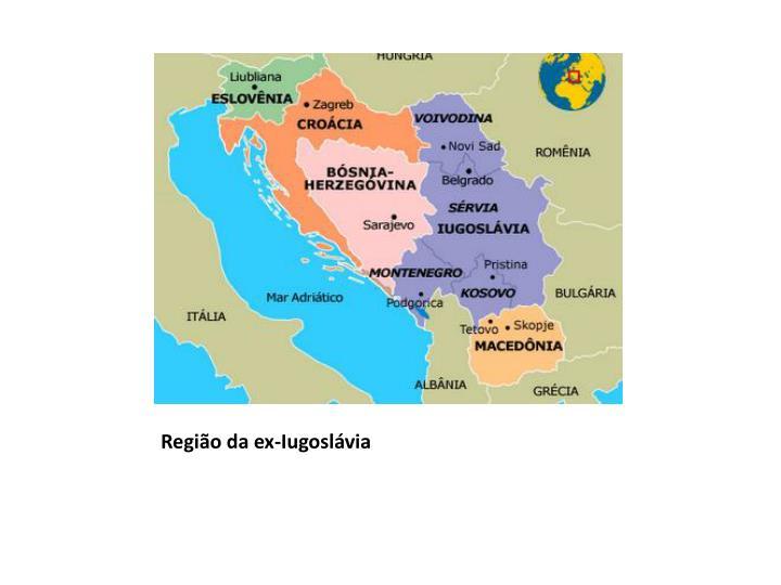 Região da ex-Iugoslávia