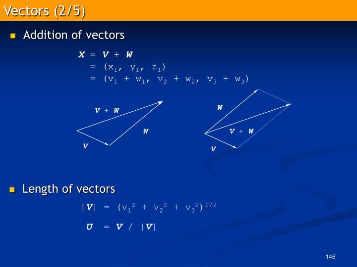 Vectors (2/5)