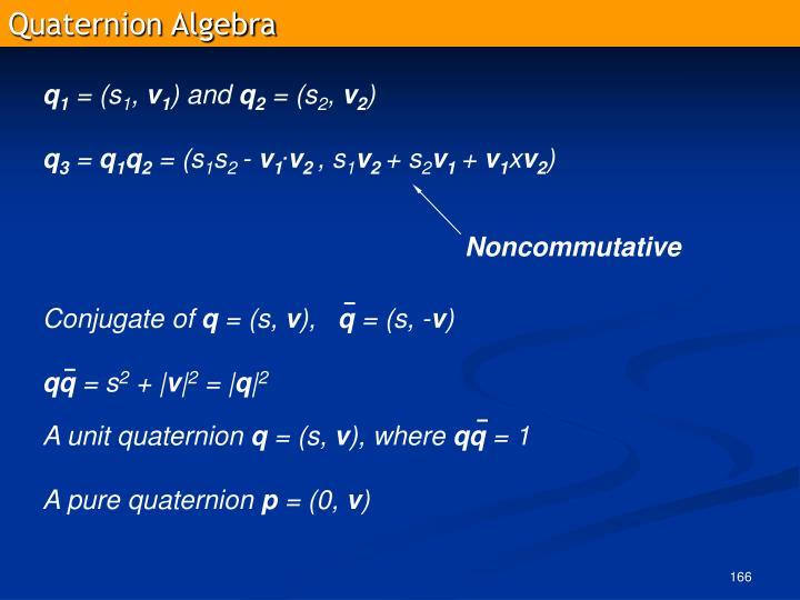 Quaternion Algebra