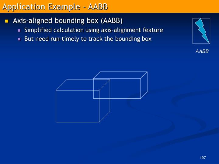 Application Example - AABB