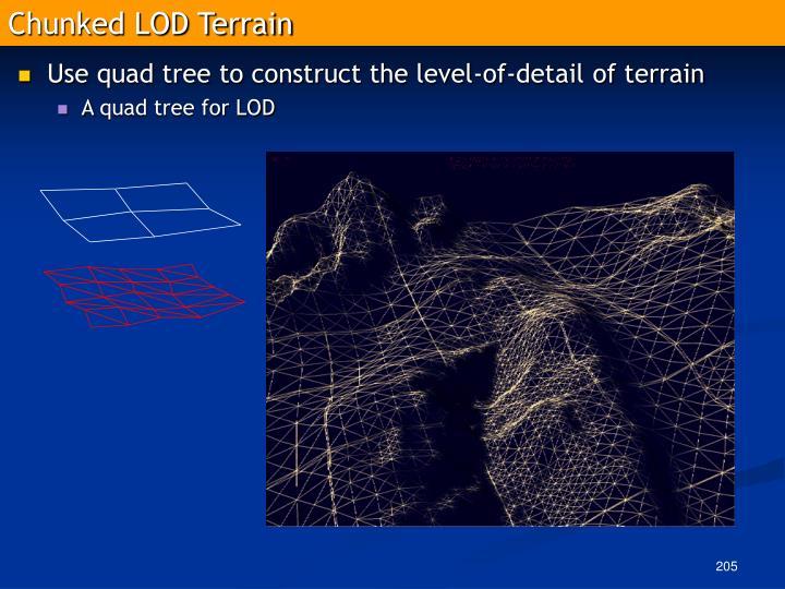 Chunked LOD Terrain