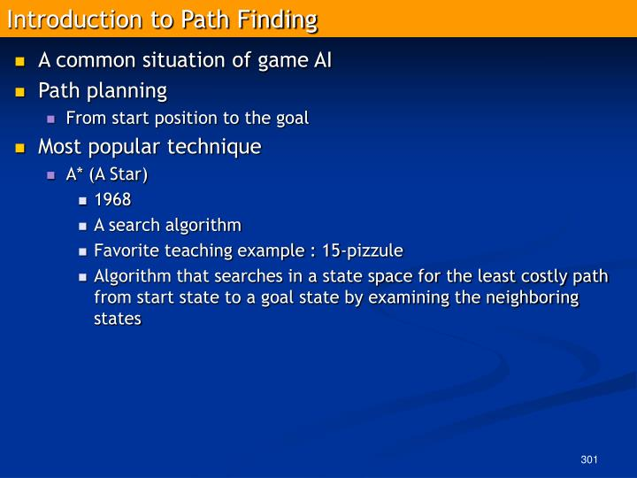 Introduction to Path Finding