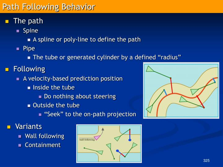 Path Following Behavior