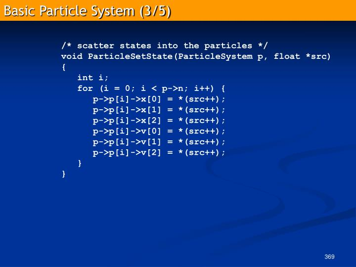 Basic Particle System (3/5)