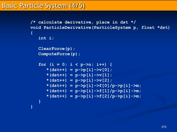Basic Particle System (4/5)