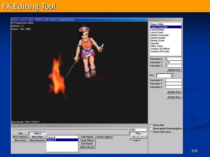 FX Editing Tool