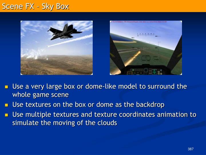 Scene FX – Sky Box