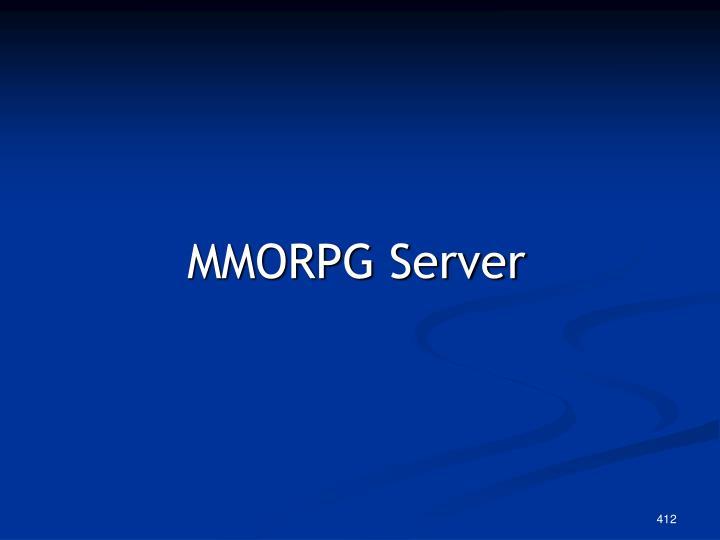 MMORPG Server