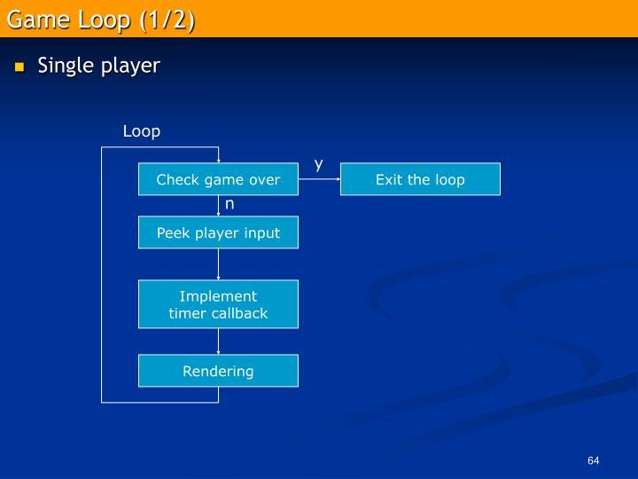 Game Loop (1/2)