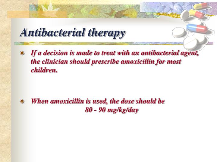 Antibacterial therapy