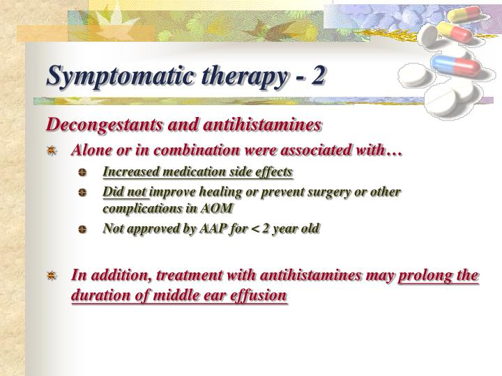 Symptomatic therapy - 2