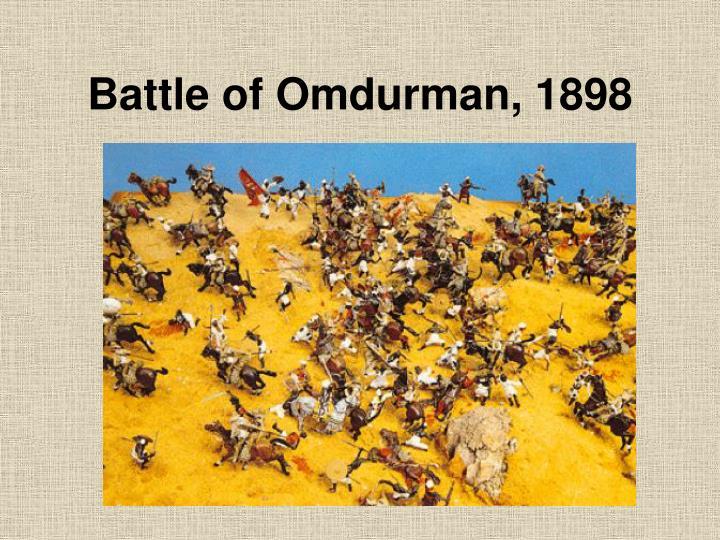 Battle of Omdurman, 1898