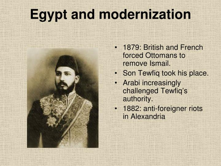 Egypt and modernization