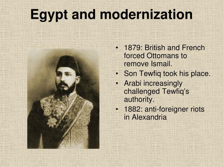 Egypt and modernization
