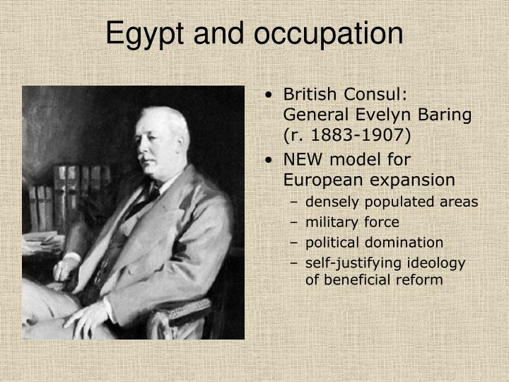 Egypt and occupation