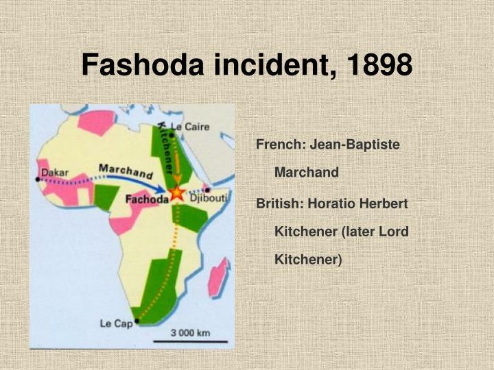 Fashoda incident, 1898