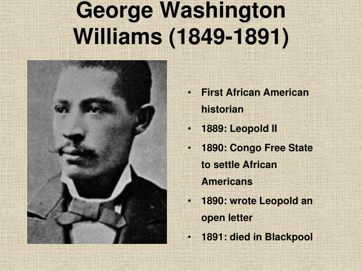 George Washington Williams (1849-1891)