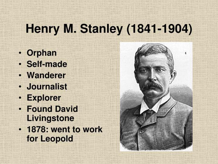 Henry M. Stanley (1841-1904)